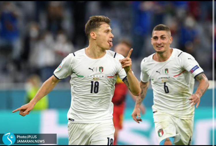 یورو ۲۰۲۰ - بلژیک و ایتالیا/ نیکولو بارلا