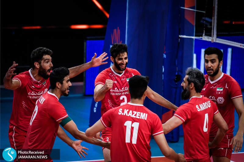 لیگ ملت های والیبال 2021/ ایران و اسلوونی