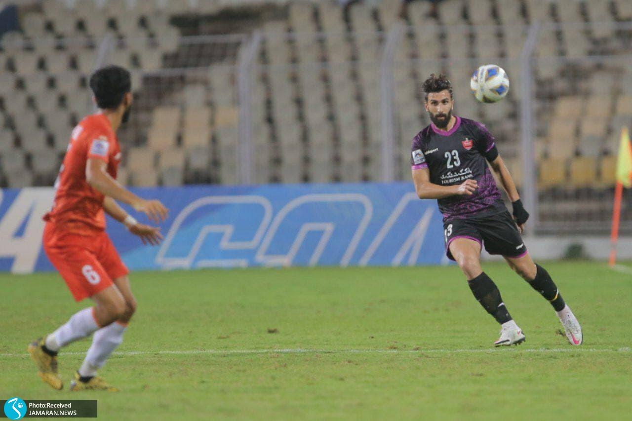 لیگ قهرمانان آسیا پرسپولیس گوا هند علی شجاعی