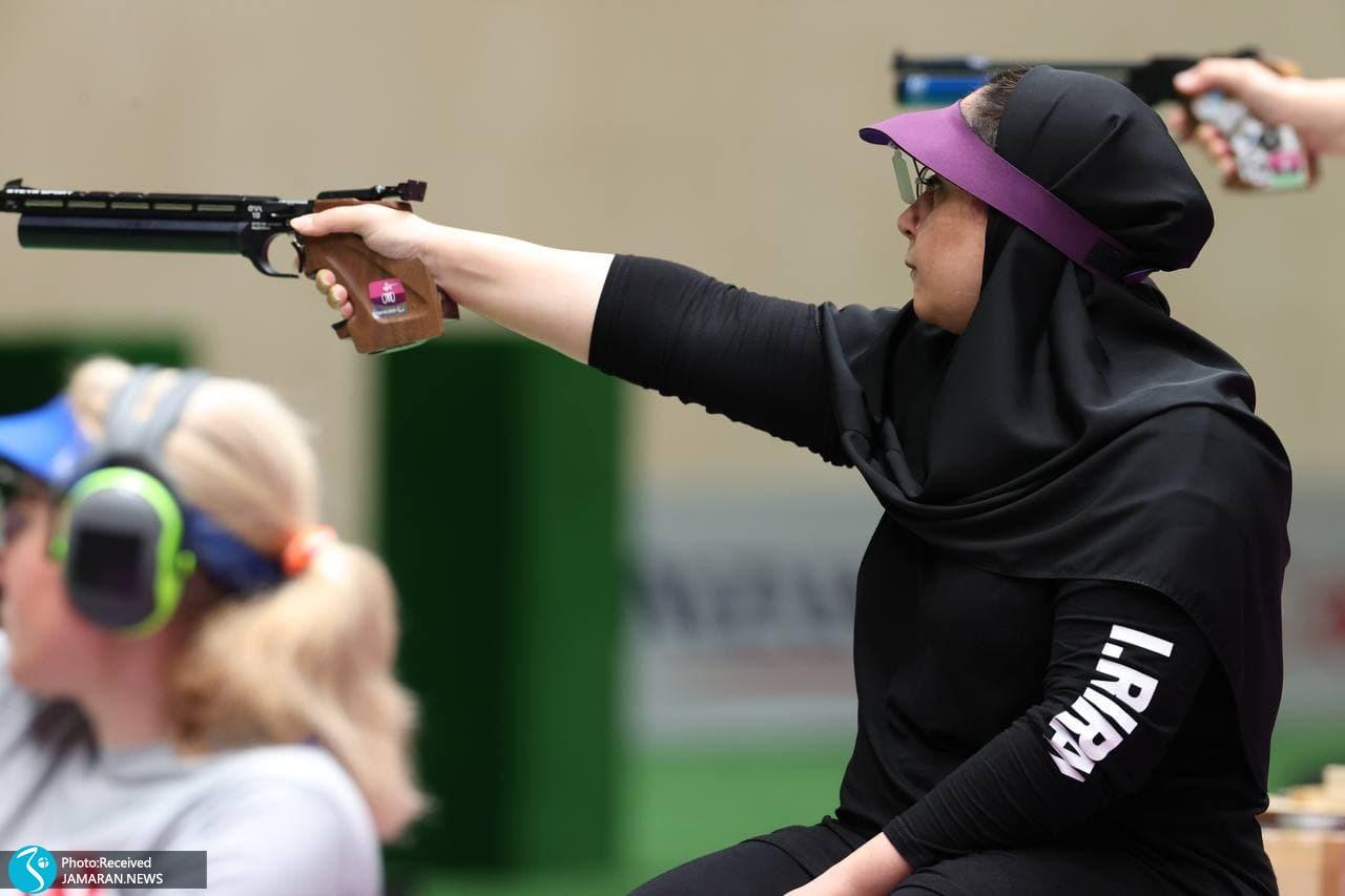 ساره جوانمردی پاراتیراندازی ایران در پارالمپیک توکیو