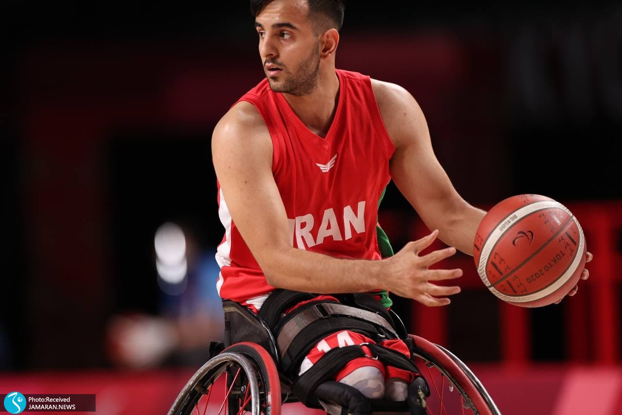 بسکتبال با ویلچر پارالمپیک 2020- ایران - الجزایر