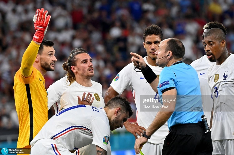 یورو ۲۰۲۰ تیم فوتبال آلمان و فرانسه