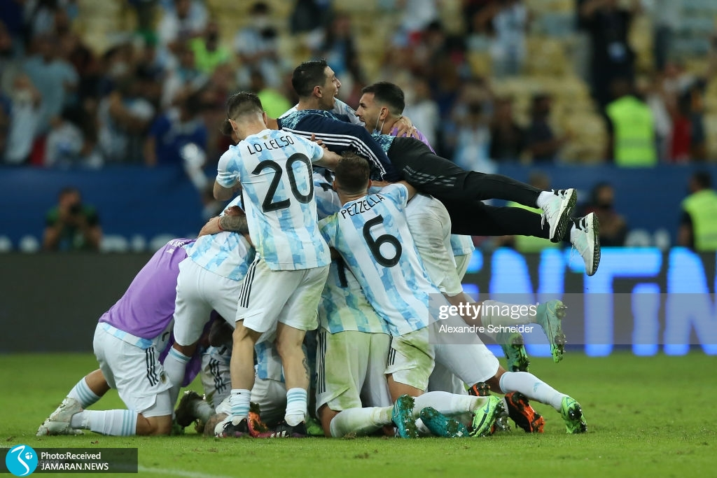 قهرمانی آرژانتین در کوپا آمه ریکا