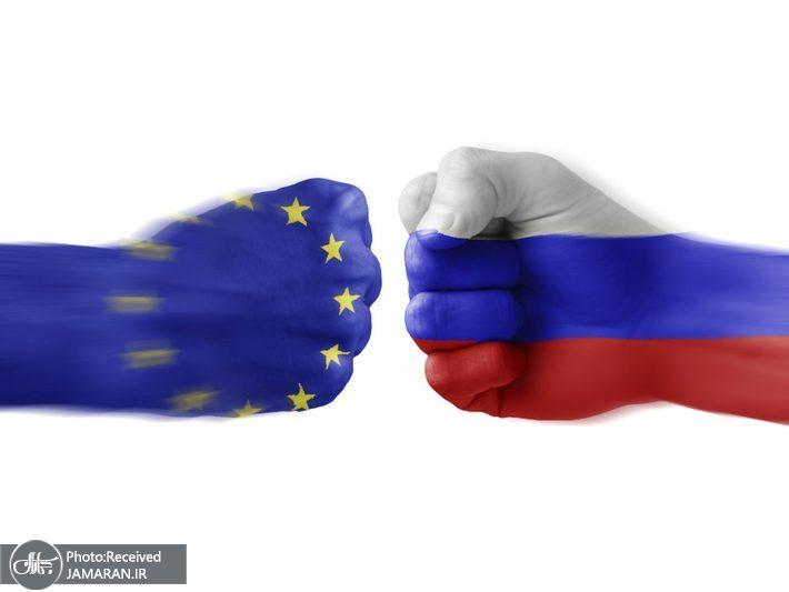 پایین ترین سطح روابط روسیه و اتحادیه اروپا
