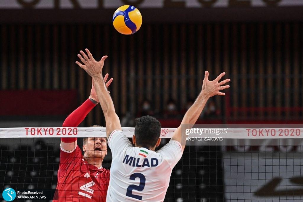 والیبال ایران و کانادا در المپیک