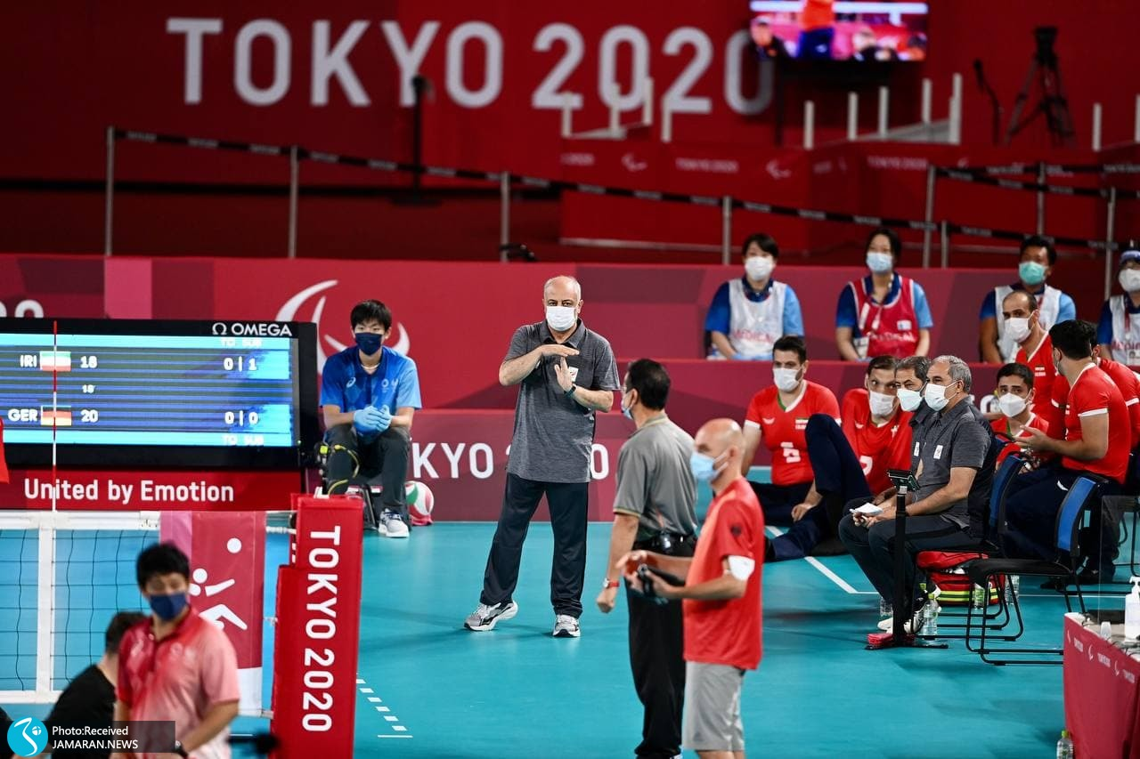 تیم ملی والیبال نشسته ایران در پارالمپیک 2020 توکیو هادی رضایی