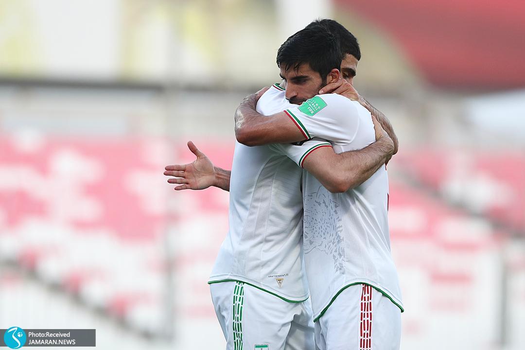 تیم ملی فوتبال ایران - ایران و کامبوج میلاد محمدی علیرضا جهانبخش