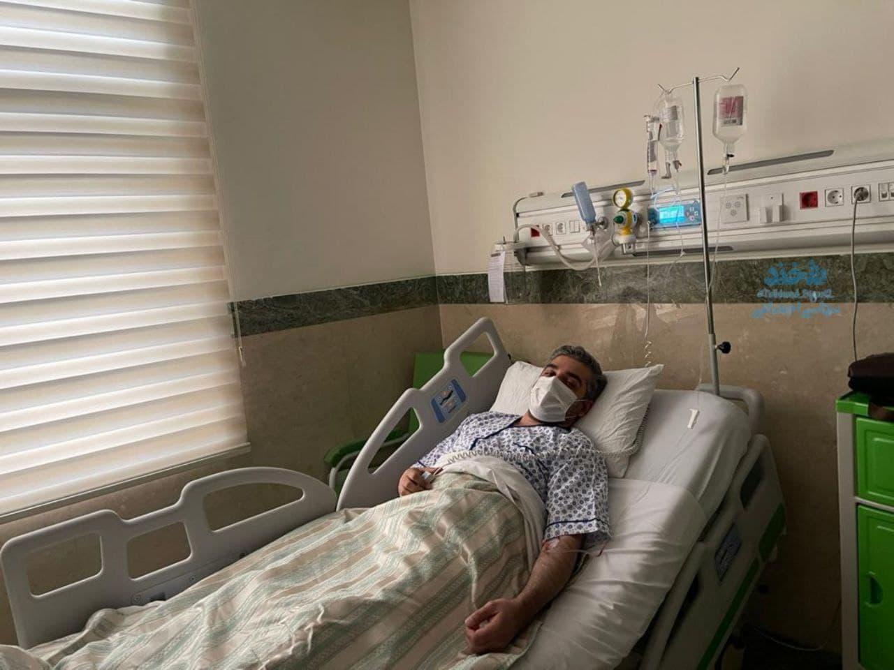 علی رضوانی به دلیل ابتلا به کرونا در بیمارستان بستری شد