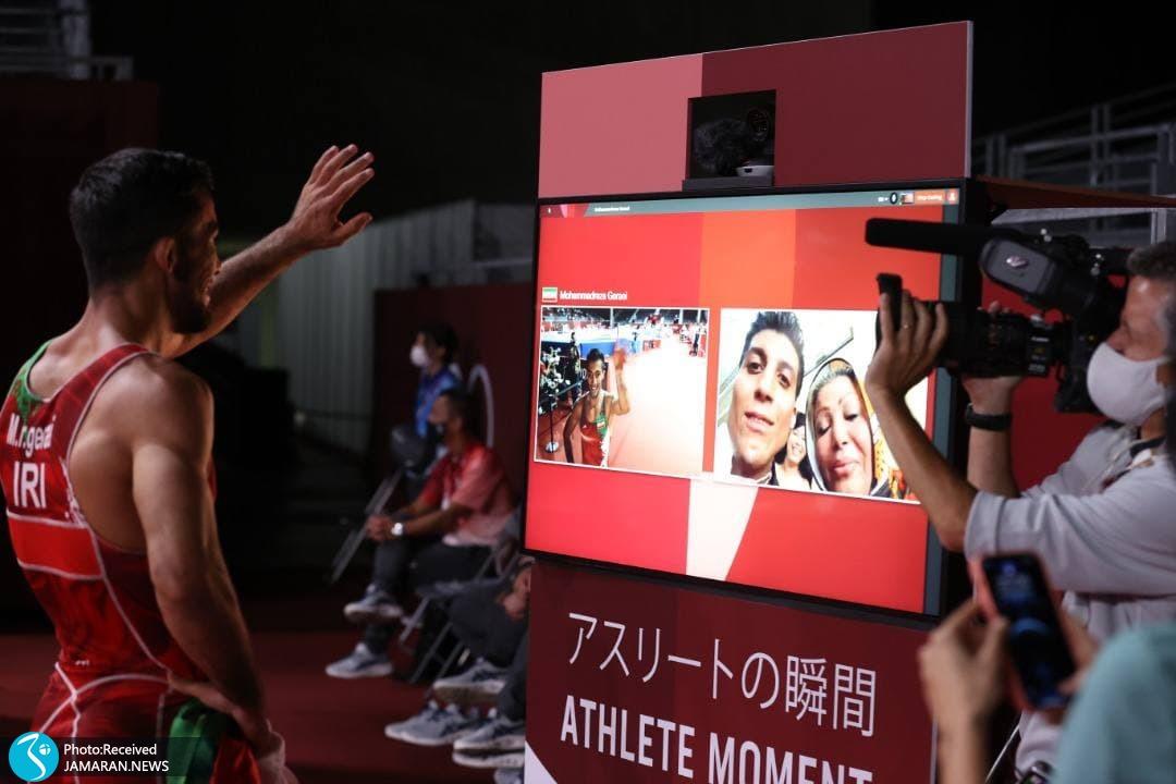 محمدرضا گرایی کشتی فرنگی المپیک 2020