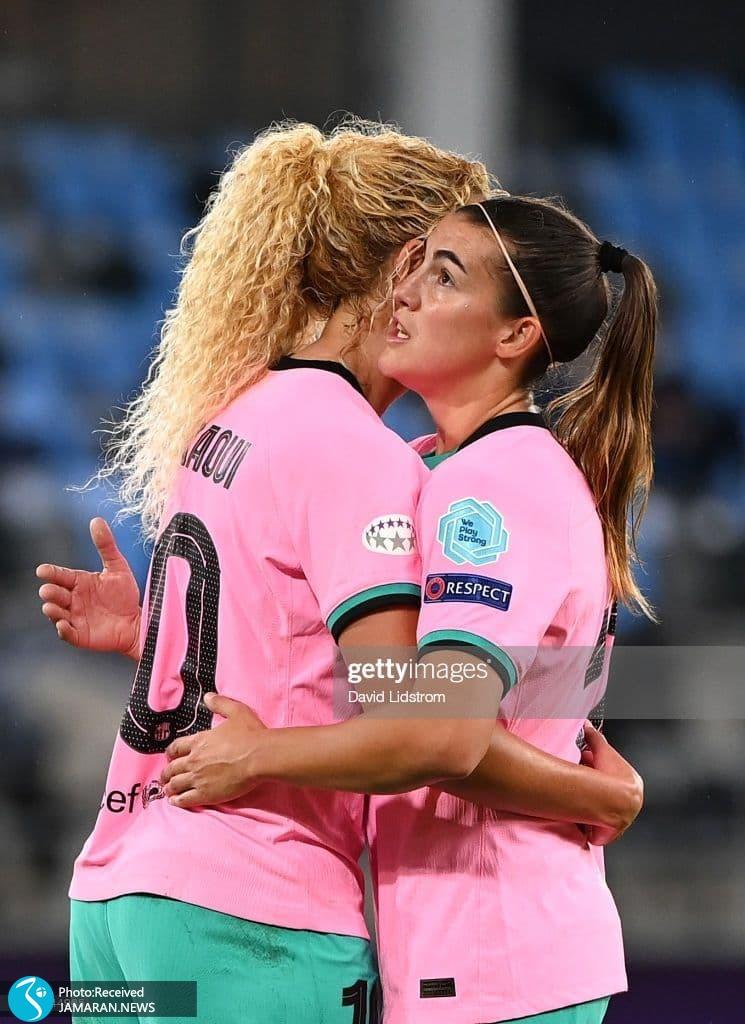فینال لیگ قهرمانان زنان اروپا بارسلونا چلسی