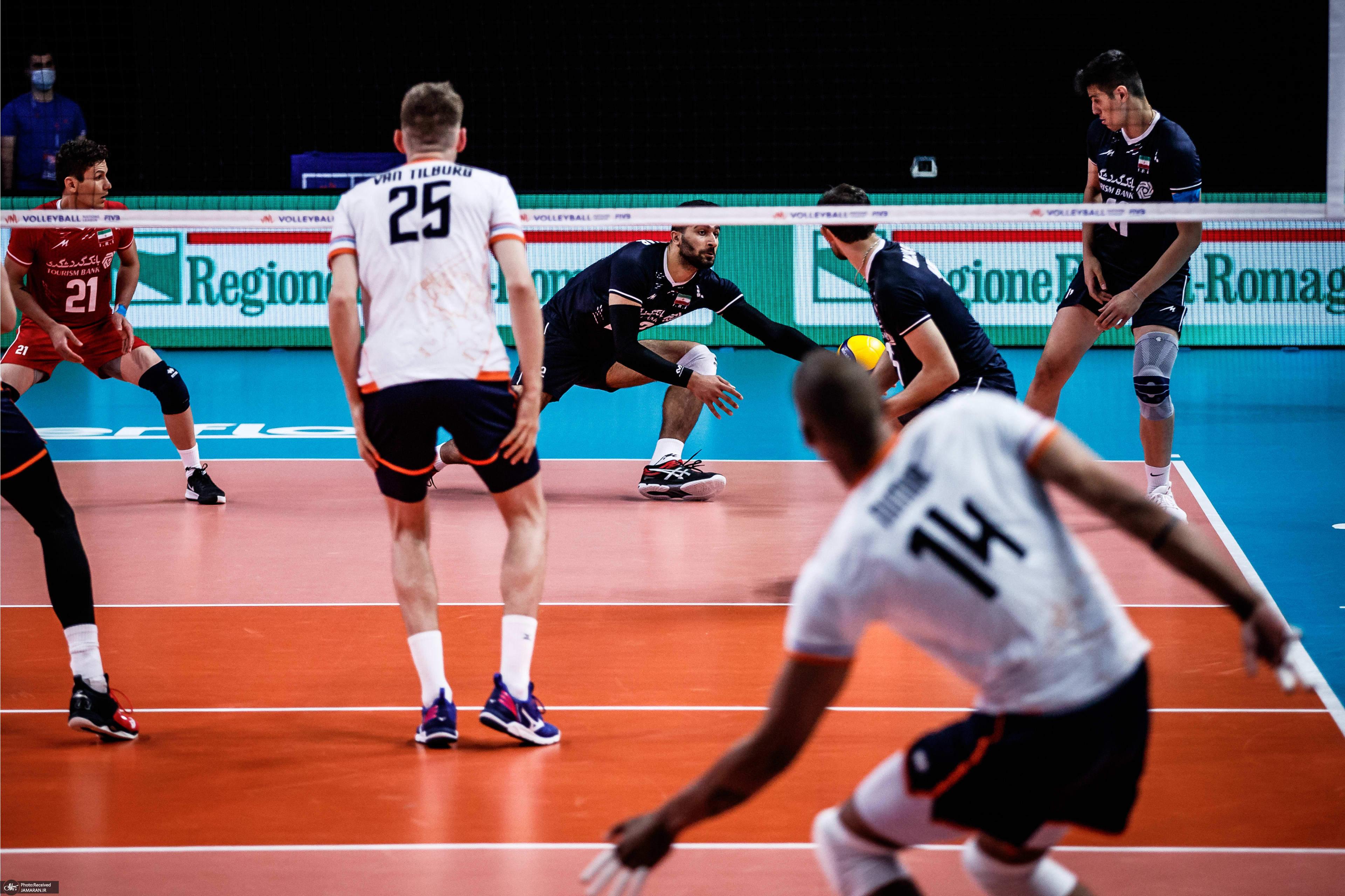 لیگ ملت های والیبال 2021- ایران و هلند