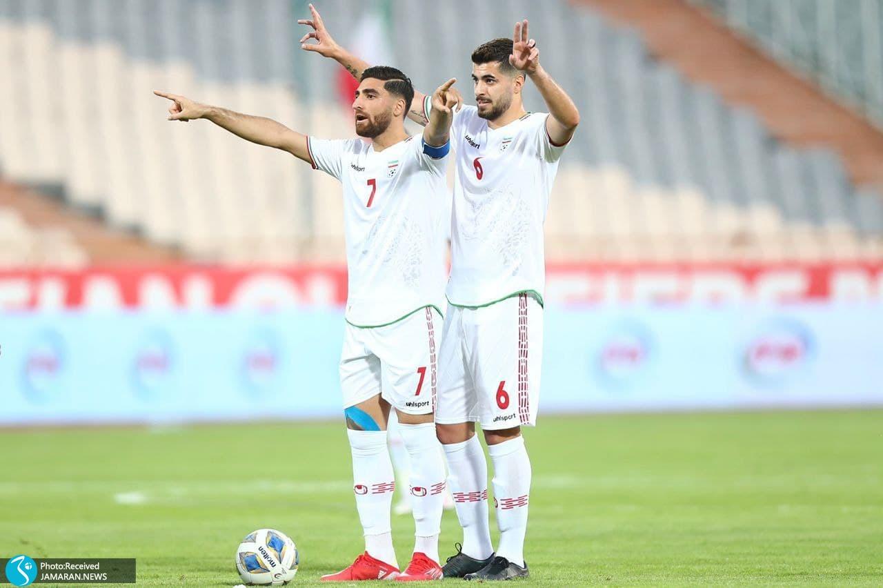 انتخابی جام جهانی 2022 - تیم ملی ایران - تیم ملی کره جنوبی- جهانبخش - سعید عزت اللهی