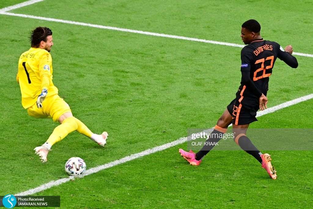 یورو ۲۰۲۰ - تیم فوتبال هلند تیم فوتبال مقدونیه