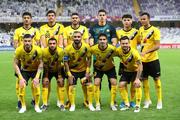 عکس/ نمایی جالب از رختکن سپاهان در بازی مقابل گل گهر