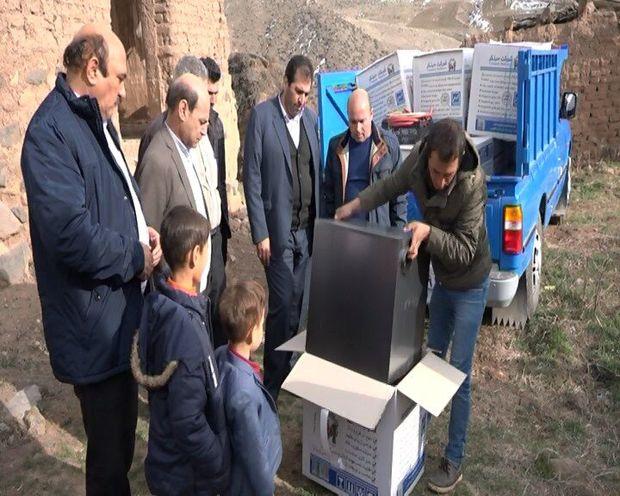 تنورهای گازی در روستاهای مشگینشهر توزیع شد