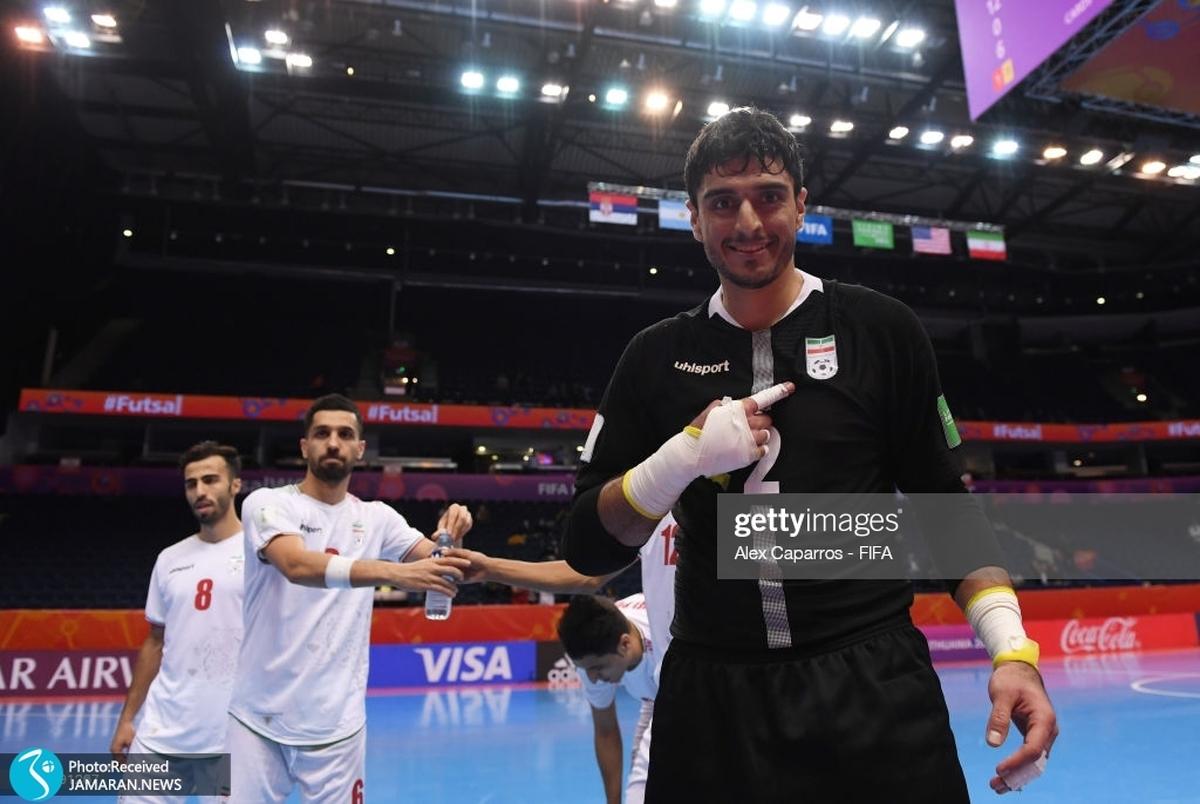 ویدیو  خلاصه بازی فوتسال ایران و صربستان در جام جهانی ۲۰۲۱