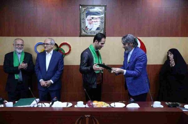 سعید حسنیپور سفیر سلامت شد