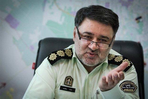 بیش از ٧٢٠ قاچاقچی در تهران دستگیر شدند