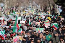 راهپیمایی باشکوه 22 بهمن در خمین