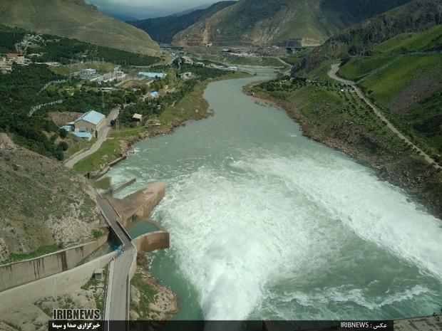 کاهش 80 درصدی ورود آب به سد سفیدرود
