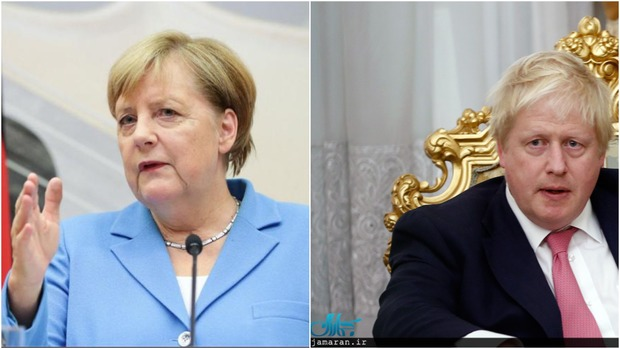 رایزنی برجامی نخست وزیر انگلیس با صدراعظم آلمان