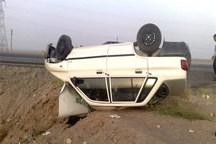 بی احتیاطی راننده سبب تصادف محور رودبار جنوب شد
