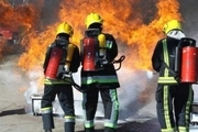 یک گاراژ در شرق تهران آتش گرفت