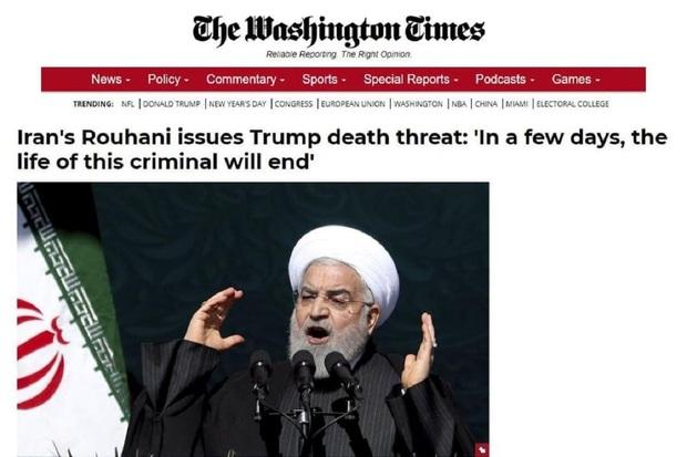 واشنگتن تایمز: روحانی ترامپ را تهدید به مرگ کرد!/ وزارت خارجه: خبر جعلی است