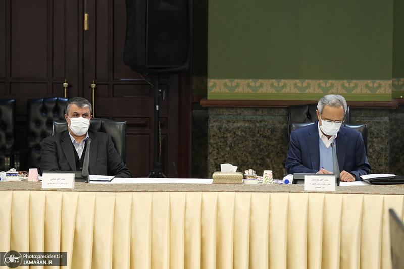 جلسه ستاد ملی مقابله با کرونا - 20 دی