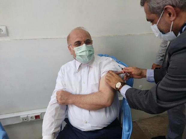 قالیباف واکسن کرونا زد + عکس