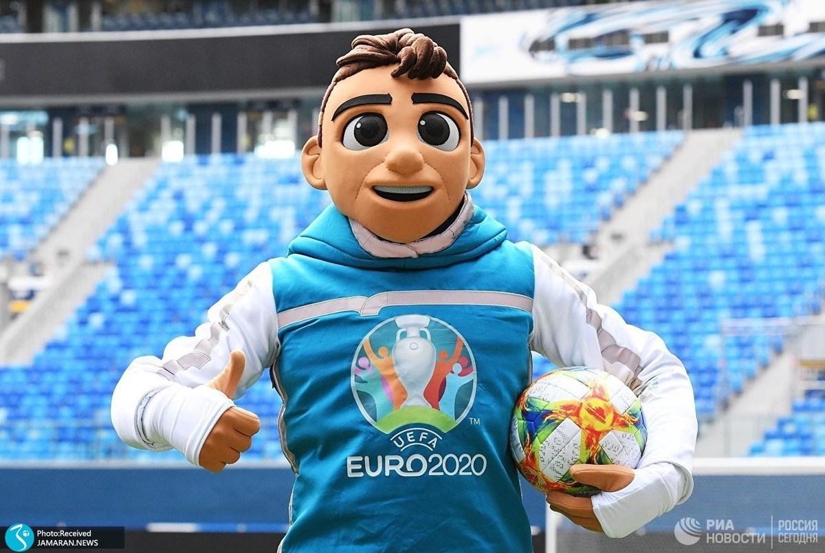 """""""اسکیلزی""""، عروسک عجیب یورو 2020 را ببینید +عکس"""
