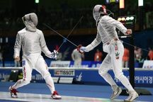 مسابقات بینالمللی شمشیربازی در اصفهان آغاز شد