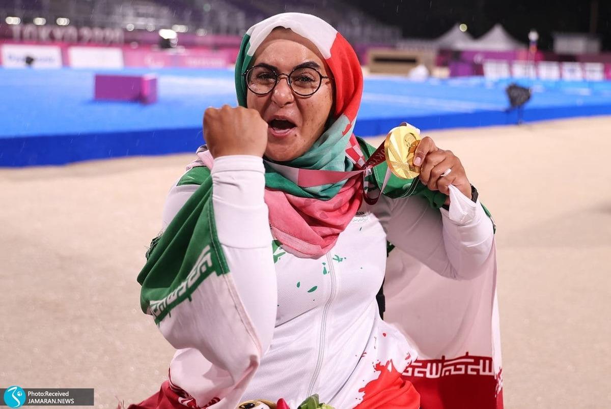 تقدیر کمیته ملی پارالمپیک از زهرا نعمتی برای کسب افتخارات بین المللی+عکس