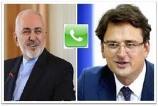 گفتگوی تلفنی وزرای امور خارجه ایران و اوکراین در مورد هواپیمای اوکراینی