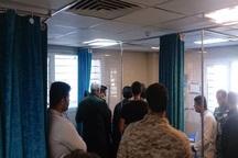 34 حادثه دیده حمله تروریستی در بیمارستان ارتش اهواز هستند