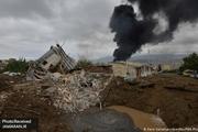 شدت گرفتن تبادل آتش سنگین در جنگ بر سر قره باغ