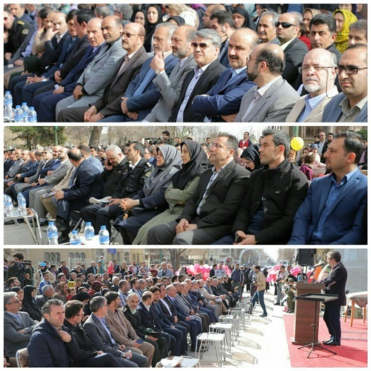 9 طرح خدماتی و عمرانی در شهر قزوین افتتاح شد
