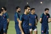 تمرینات خاص دروازه بان های پرسپولیس در روز حضور بشار