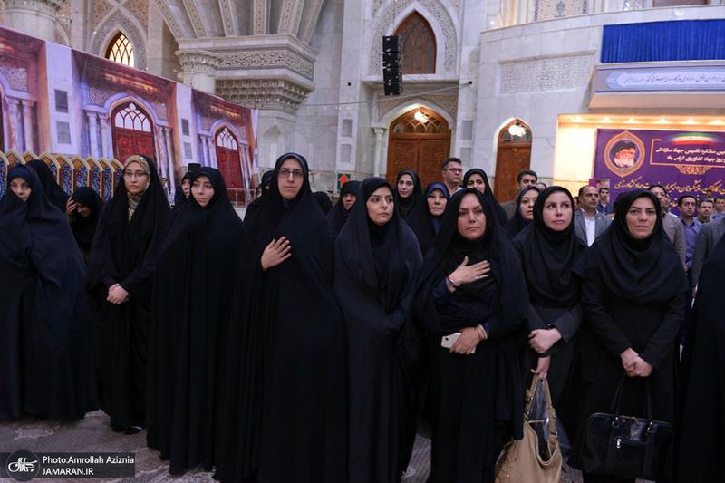 تجدید میثاق وزیر، مدیران و کارکنان وزارت جهاد کشاورزی با آرمان های حضرت امام(س)