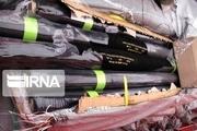 ۸۰۰میلیون تومان پارچه قاچاق در چگنی کشف شد