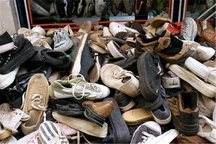 جریمه 92 میلیون ریالی قاچاقچی کفشهای کارکرده در قزوین