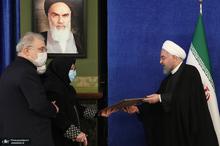 تقدیر روحانی از خانواده های سه شهید حوزه سلامت کشور