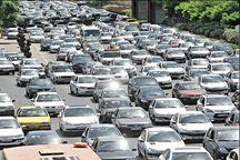 ترافیک در ورودیهای مشهد پُر حجم است