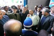 جهانگیری خط فرآوری مواد معدنی معدن طرود شاهرود را افتتاح کرد