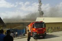 آتش سوزی ساختمان مرکزی شرکت نفت گچساران مهار شد
