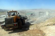 43 هزار مترمربع اراضی ملی و دولتی در استان ایلام رفع تصرف شد