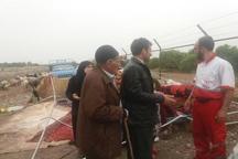 28 خانوار عشایری در دزفول امداد رسانی شدند
