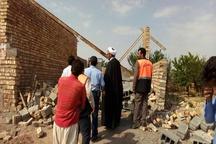 تخریب 8 ساخت و ساز غیرمجاز در اراضی سایت باستانی شهر کهن نیشابور