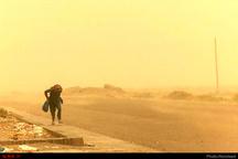 شدت وزش باد با سرعت 100 کیلومتر برساعت در زابل