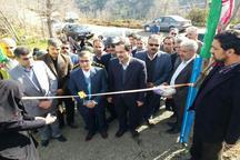 افتتاح دو پروژه عمرانی در املش همزمان با دهه فجر